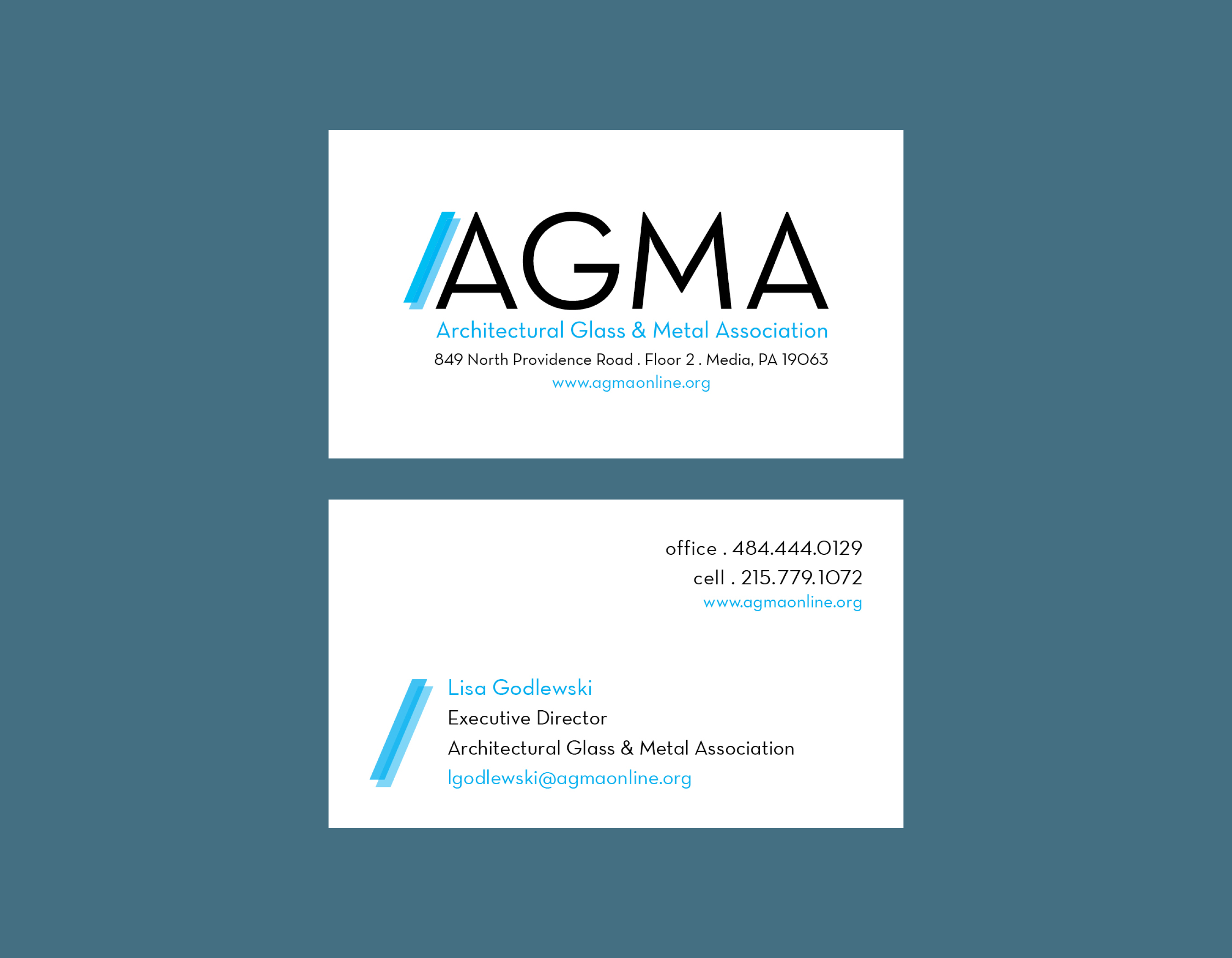 AGW Graphic Design - AGMA Identity and Cards