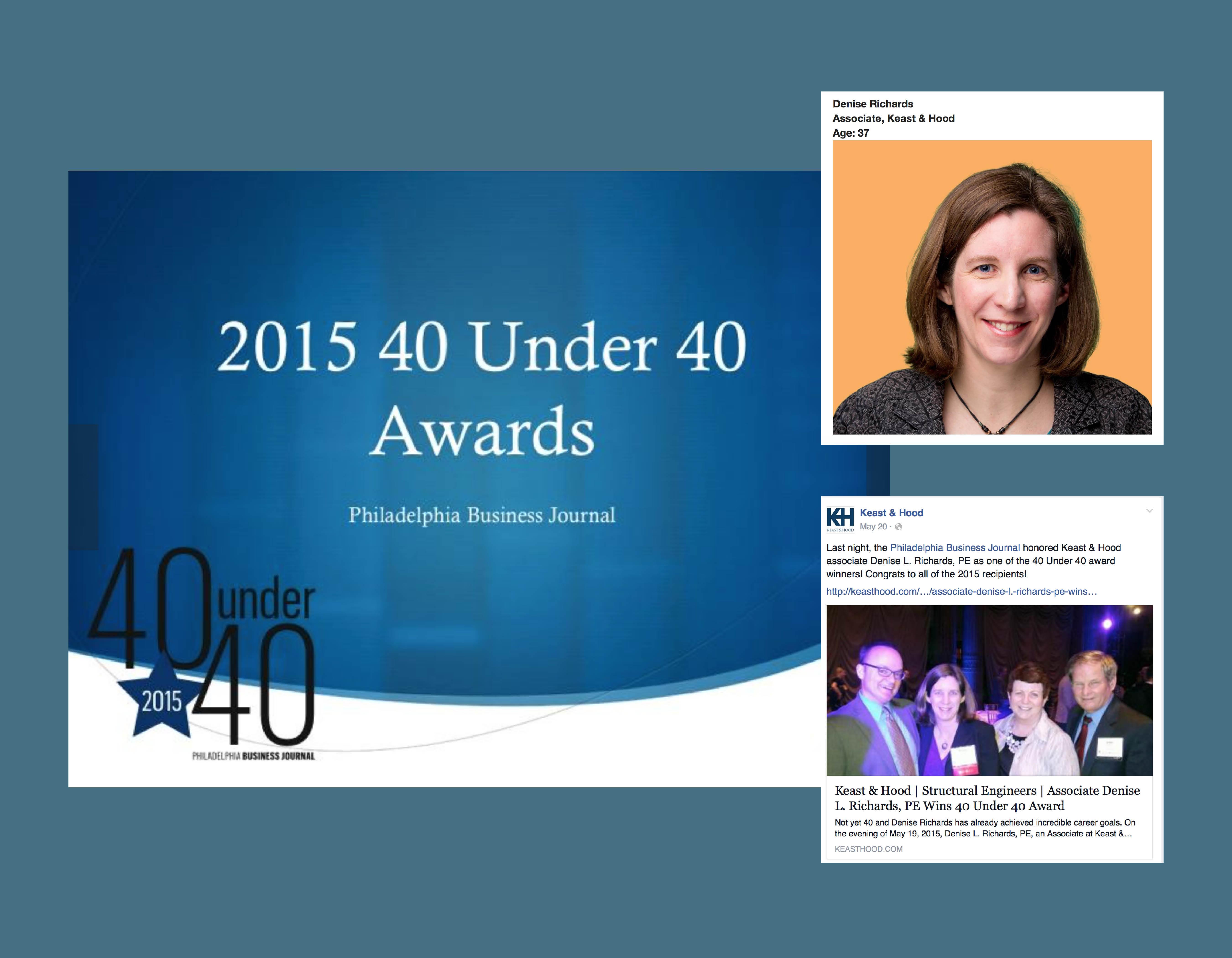 Keast & Hood 40 Under 40 Award