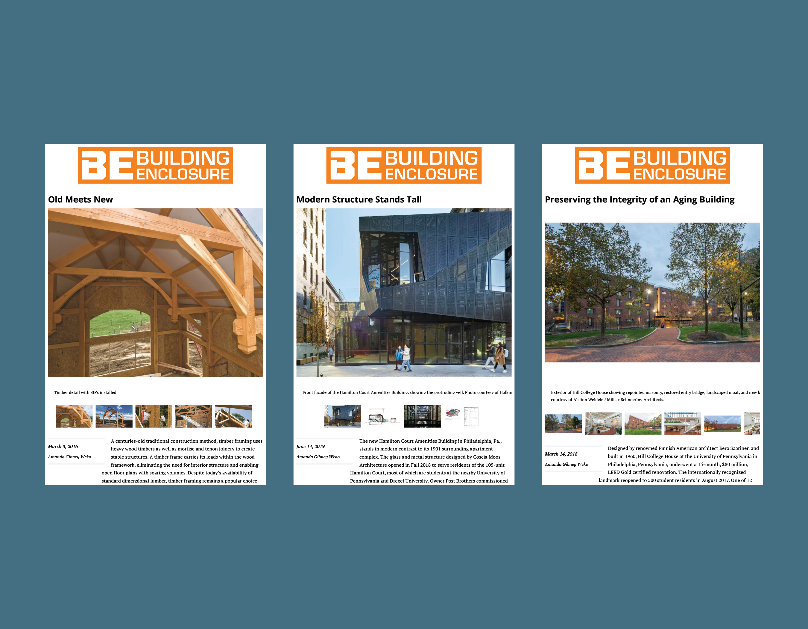 AGW Writing - Building Enclosure Magazine